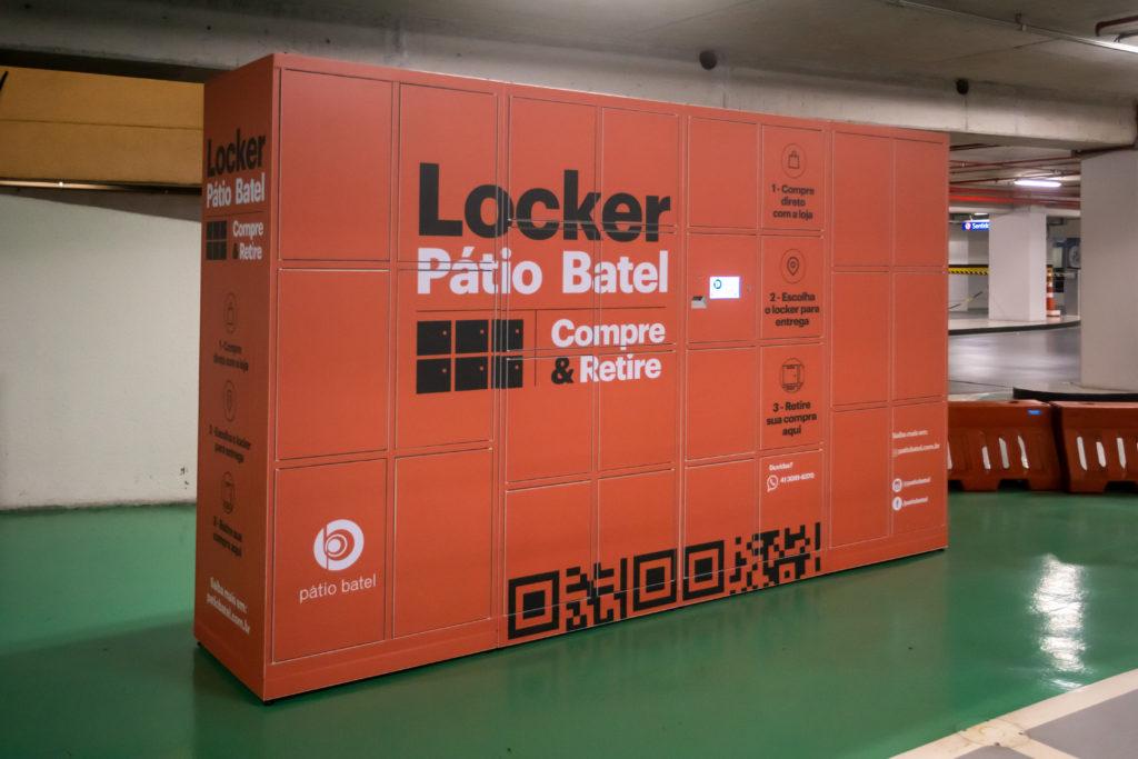 Pátio Batel também adota Lockers como opção de entrega de mercadorias